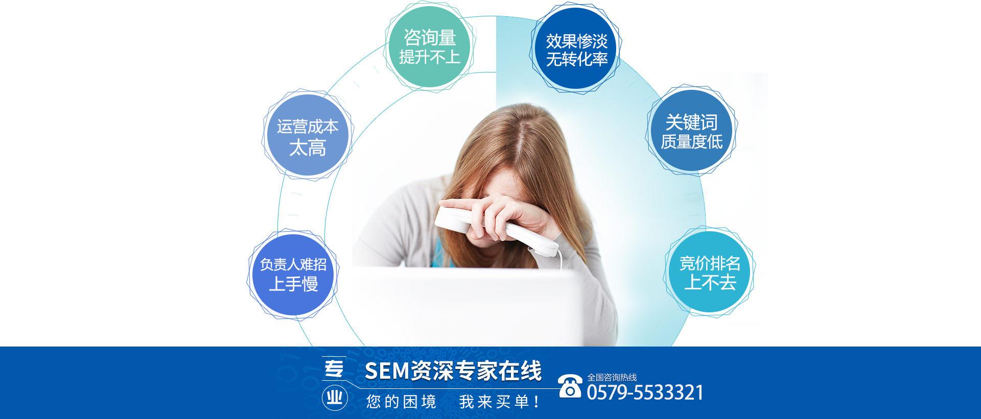 义乌SEM竞价账户托管外包公司帮你处理各种优化难题